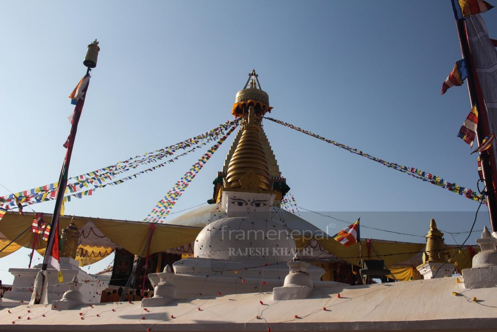Boudhanath Stupa, Images for Boudha Stupa, HD Images. Boudhanath is a stupa in Kathmandu, Nepal. the stupa's massive mandala makes it one of the largest spherical stupas in Nepal. One of world heritage site of Nepal Boudhastupa.