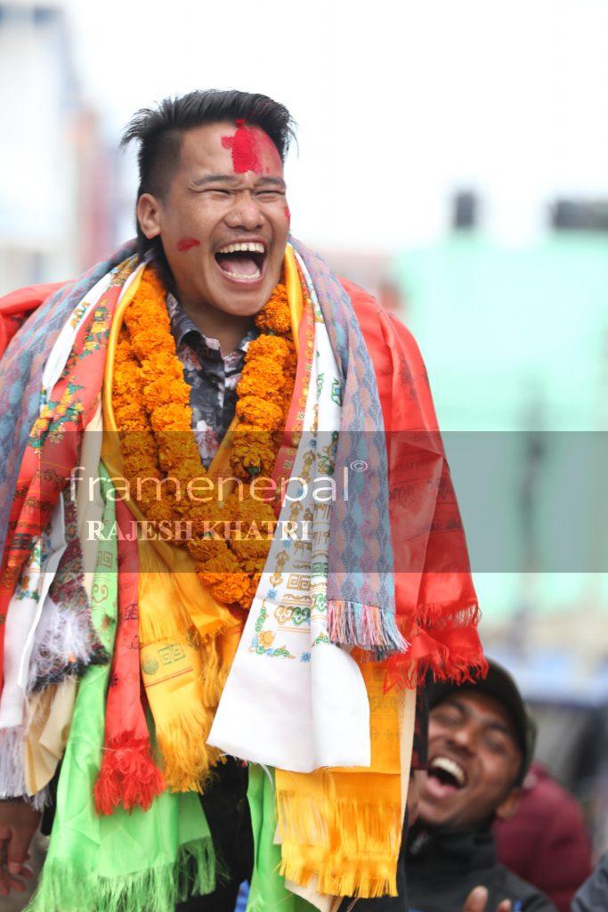 Khabapu,Khadga Bahadur Pun Magar, Comedy Champion Stand up Comedian