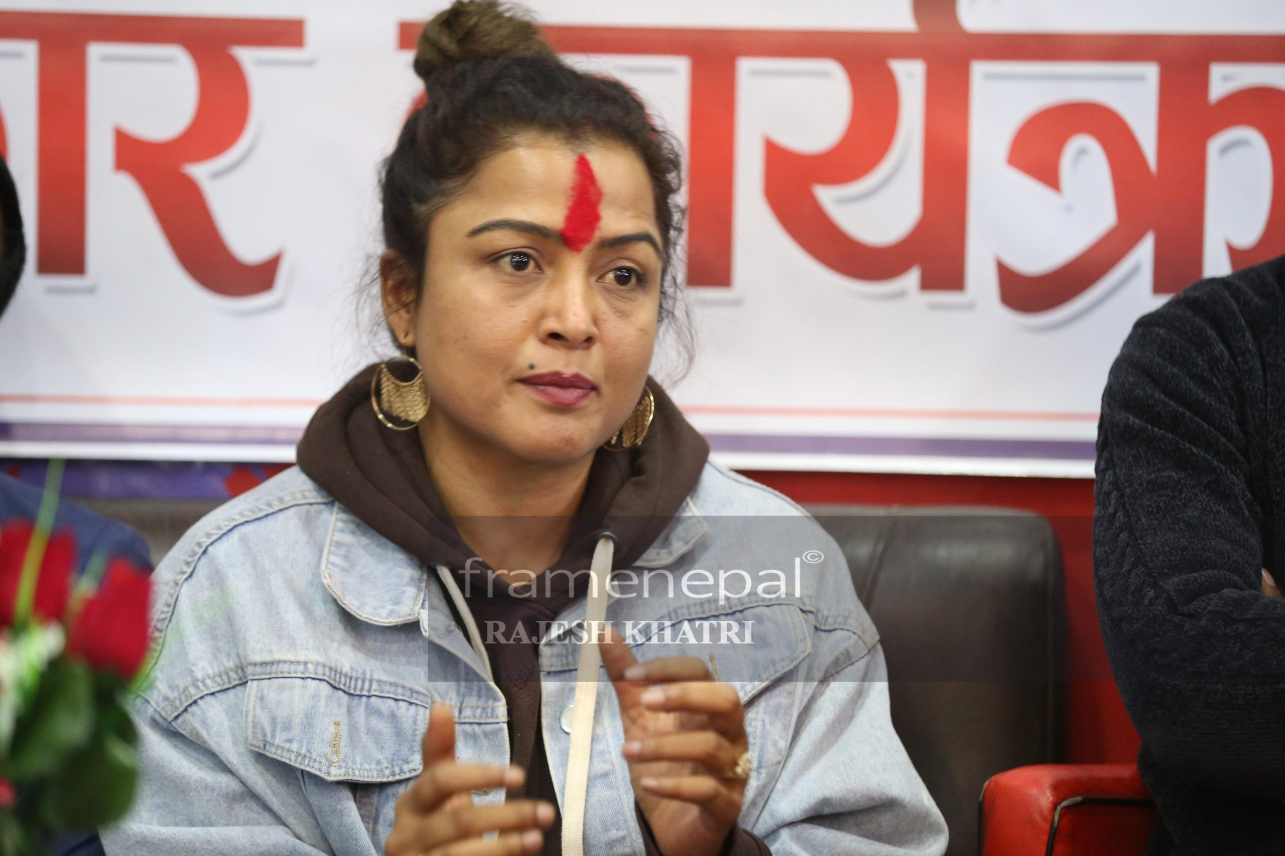 Rekha Thapa is a Nepali actress, model and film maker.