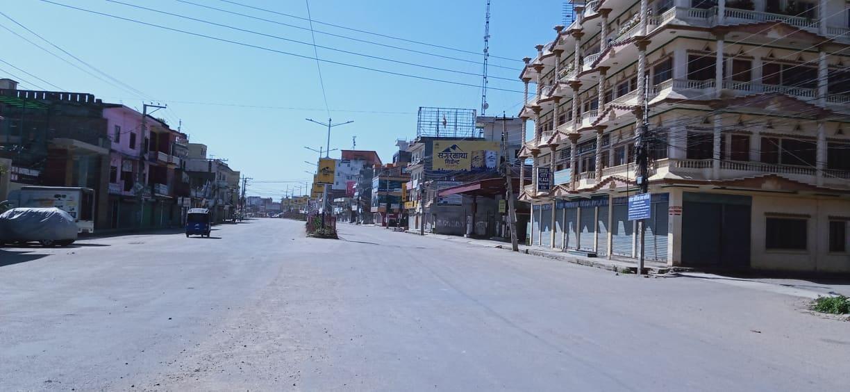 Ghorahi Bazar Lock Down, Dang Nepal