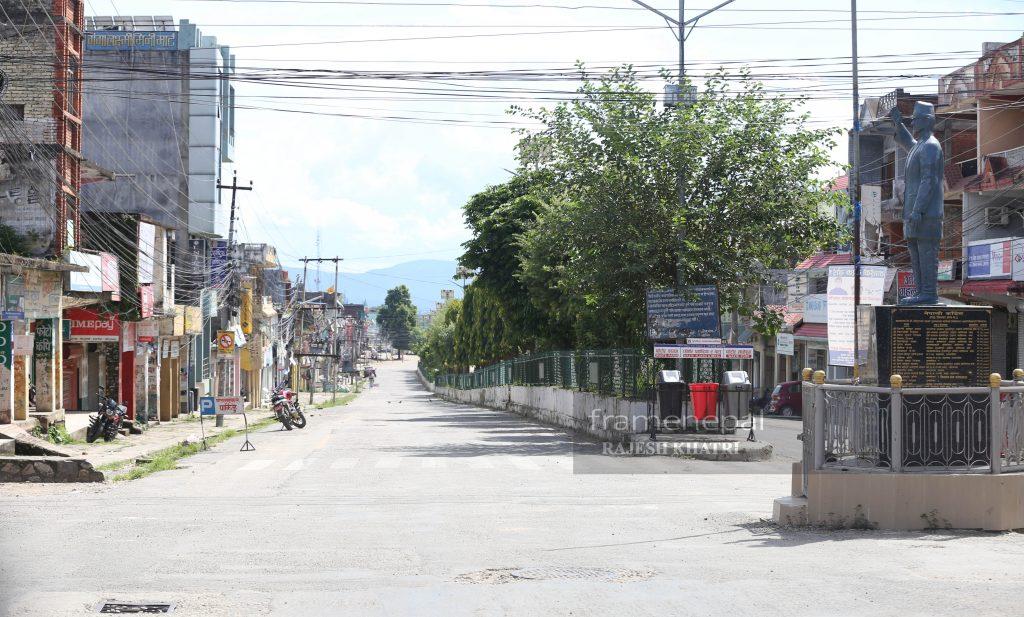 Tuslipur Bazar, Dang Lockdown, Best Image Tuslipur Dang