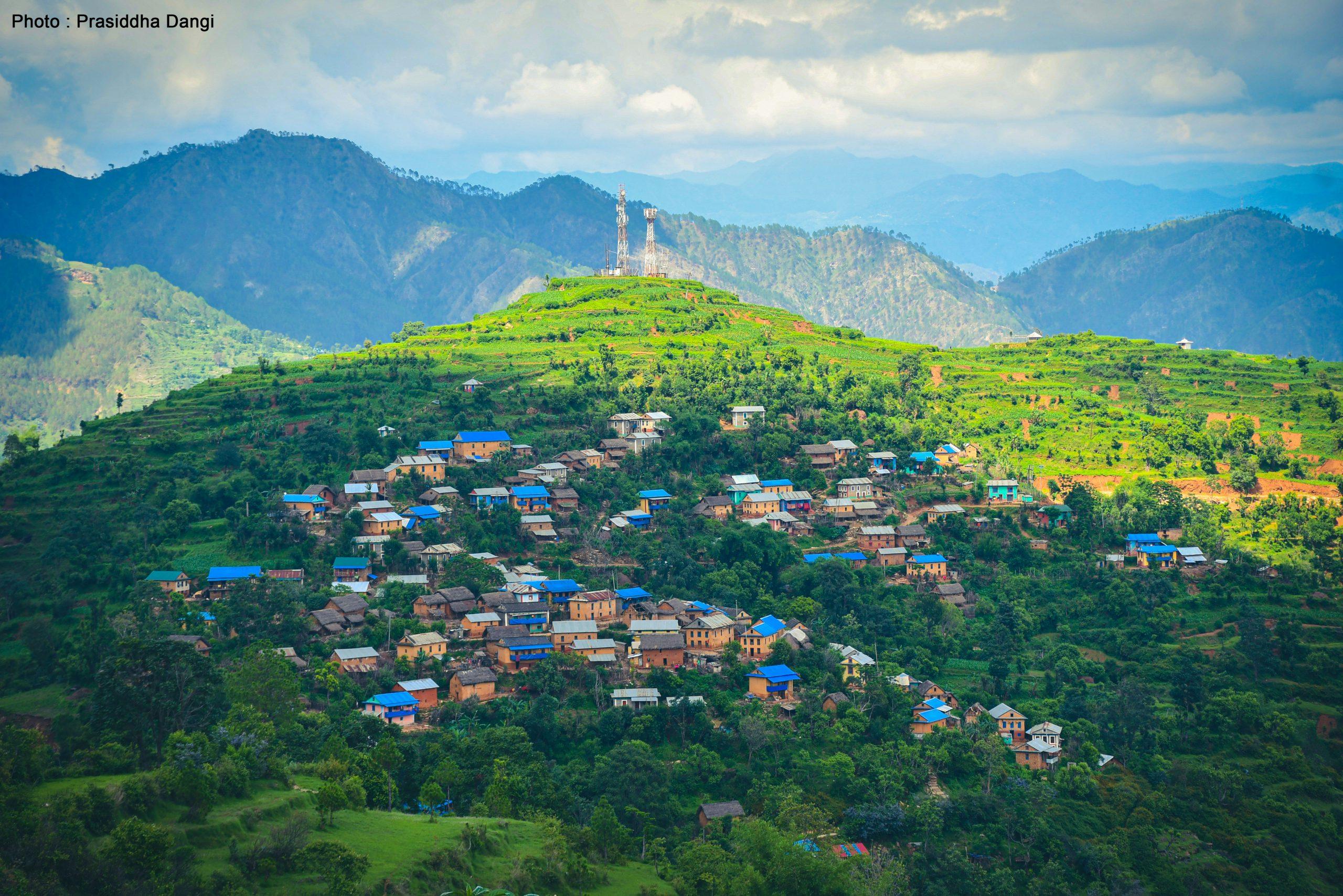 Best Landscape image of Nepal, Salyan District Image Photo